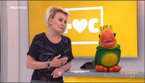 Ana Maria Braga e Louro José em participação inédita no Mais Você (foto: Reprodução/Globo)