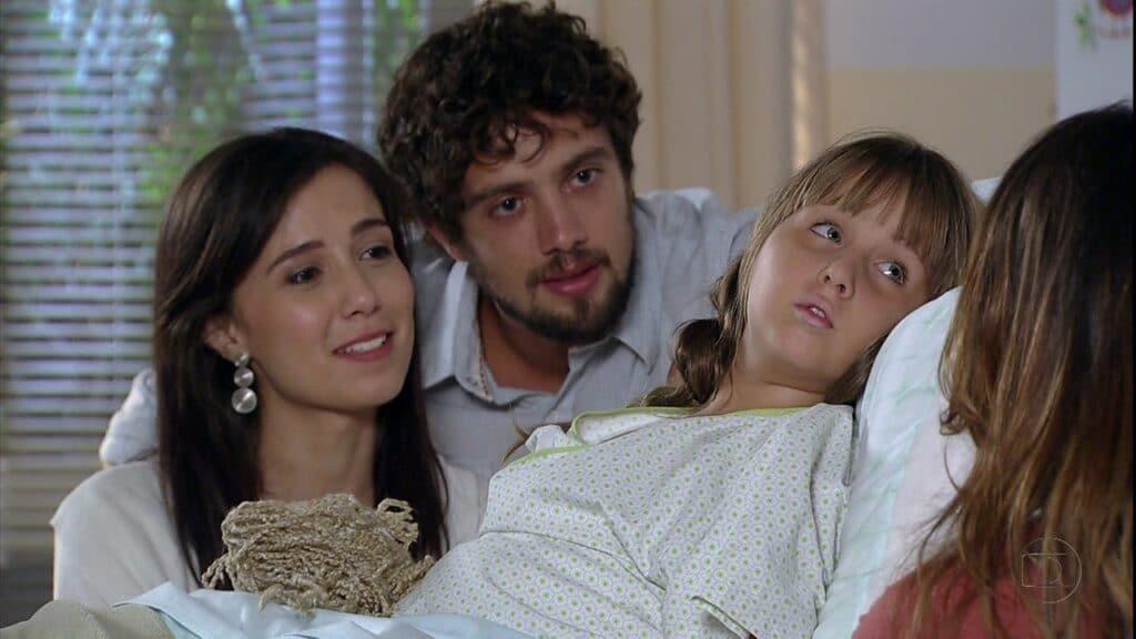 Cena do último capítulo de A Vida da Gente, transmitido em 2012 (foto: Reprodução/TV Globo)