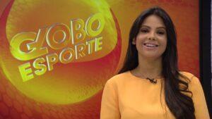 Carina Pereira apresentava o Globo Esporte na emissora da Globo em Belo Horizonte (foto: Reprodução)