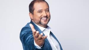 Geraldo Luís leva a melhor e vence Ratinho em noite de estreia na Record (foto: Edu Moraes/Record)