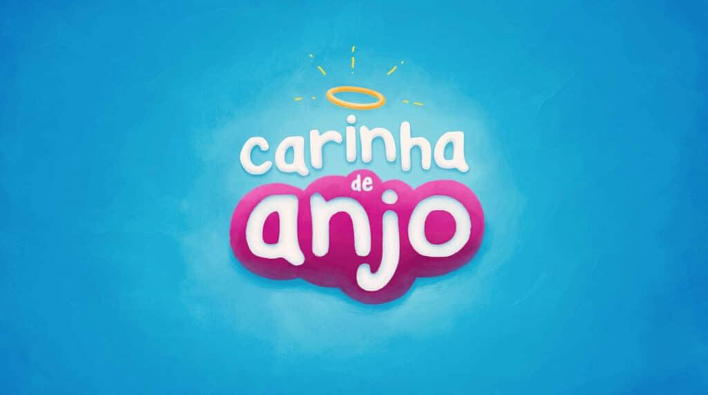 Logotipo da novela Carinha de Anjo, em exibição no horário nobre do SBT