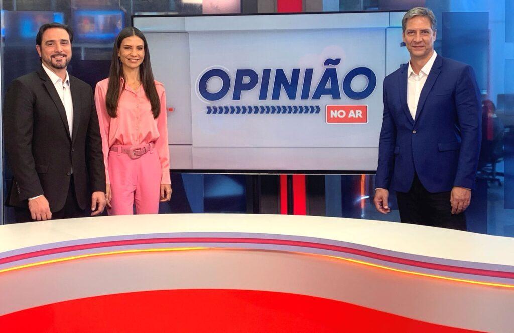Lacombe tem menos público que programa da Igreja Universal (foto: Divulgação/RedeTV!)