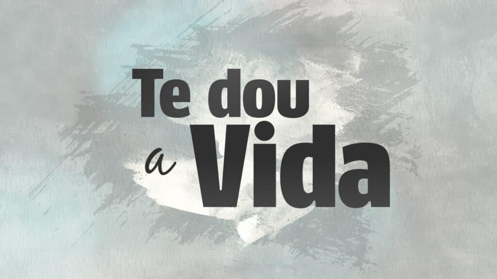 Logotipo da novela Te Dou a Vida, em exibição nos fins de tarde do SBT