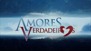 Logo de Amores Verdadeiros, novela mexicana do SBT (foto: Reprodução/SBT)
