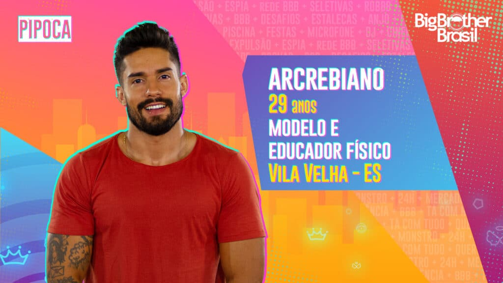 Arcrebiano é modelo e educador físico (foto: Globo/Divulgação)