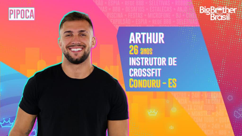 Arthur é instrutor de crossfit (foto: Globo/Divulgação)