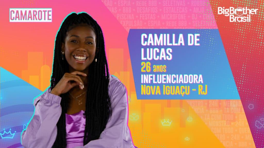 Camilla de Lucas é influencer (foto: Globo/Divulgação)