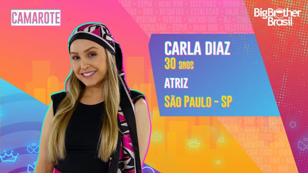 Carla Diaz é atriz (foto: Globo/Divulgação)