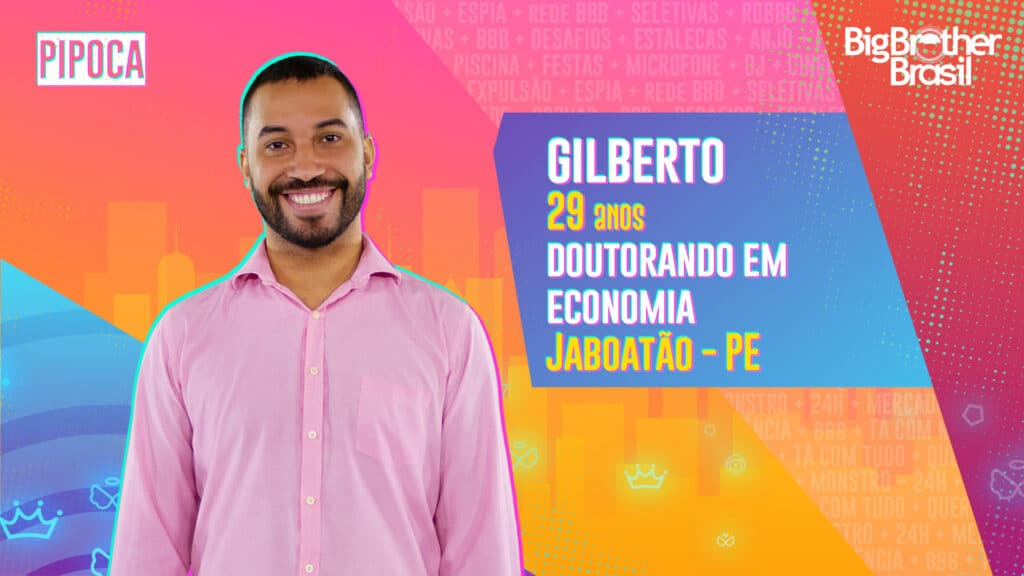 Gilberto é doutorando em Economia (foto: Globo/Divulgação)