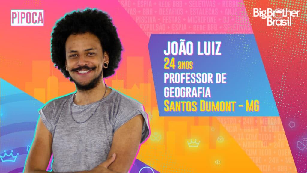 João Luiz é professor de geografia (foto: Globo/Divulgação)