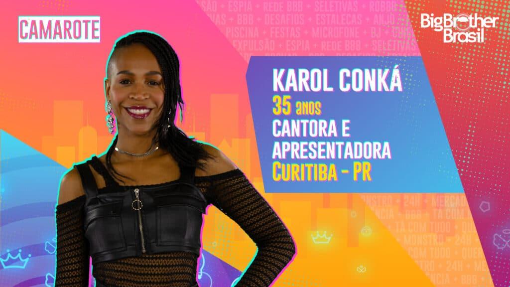 Karol Conká é cantora e apresentadora (foto: Globo/Divulgação)
