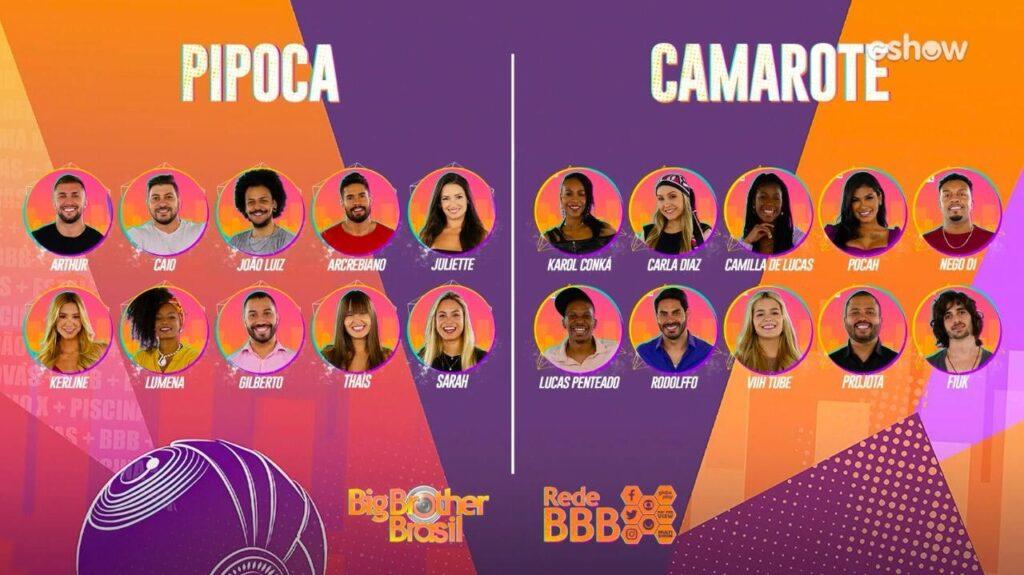 Os participantes escolhidos pelo público ficarão separados dos outros competidores quando entrarem na casa (foto: Globo/Divulgação)