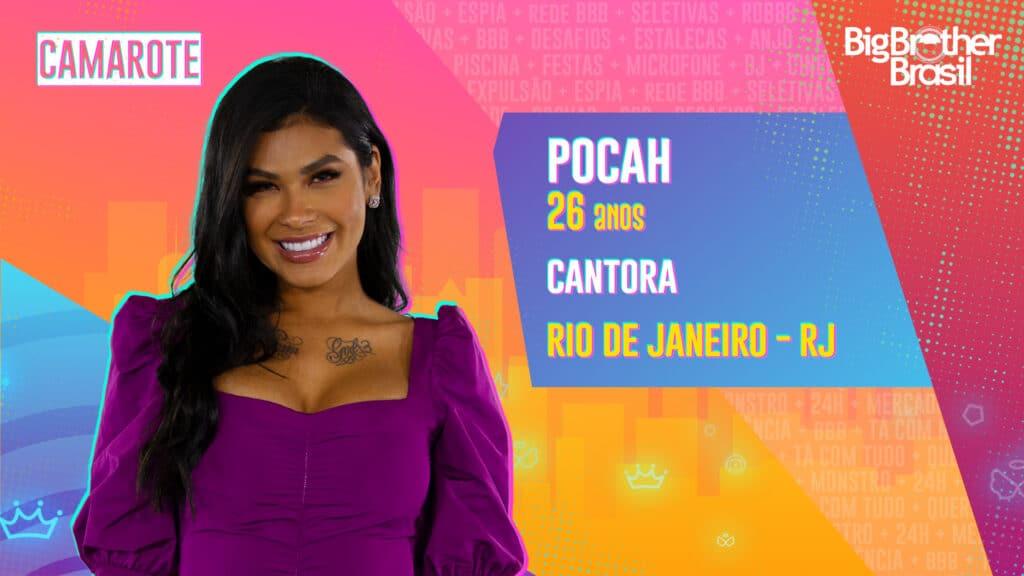 Pocah é cantora (foto: Globo/Divulgação)