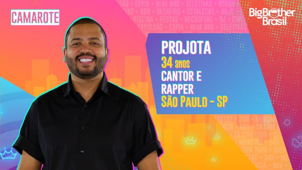 Projota é rapper e cantor (foto: Globo/Divulgação)