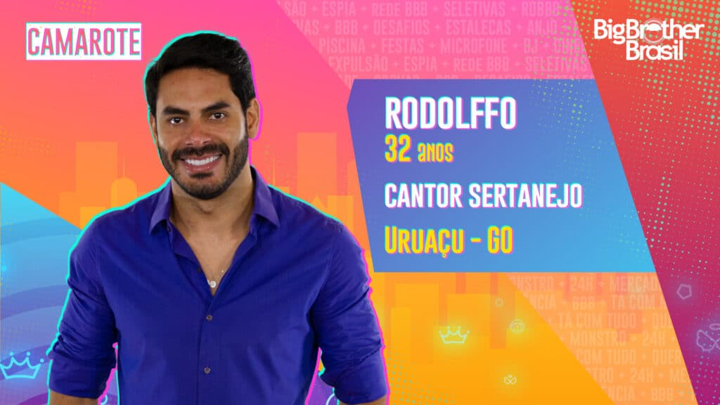 Rodolffo é cantor sertanejo (foto: Globo/Divulgação)