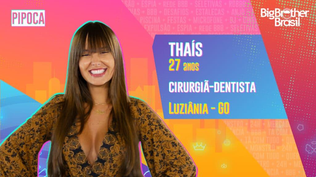 Thaís é cirurgiã-dentista (foto: Globo/Divulgação)