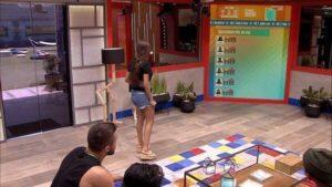 Queridômetro já causou intriga na casa do BBB21 (foto: Reprodução/TV Globo)