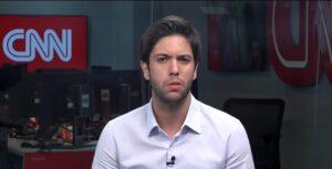 Caio Coppolla colocou veículos de imprensa em uma saia justa (foto: Reprodução/CNN Brasil)