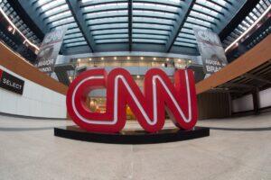 Entrada da sede da CNN Brasil, em São Paulo (foto: Divulgação/CNN Brasil)