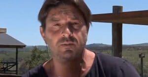 O ator argentino Damián de Santo polemizou ao falar sobre a pandemia (foto: Reprodução/América TV)