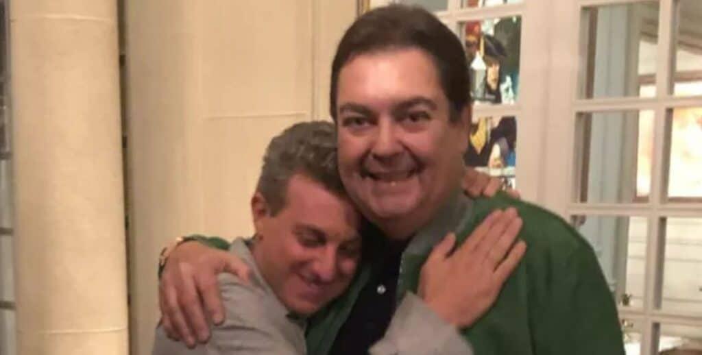 Luciano Huck foi convidado por Faustão para um jantar sobre os domingos da Globo (foto: Reprodução/Redes Sociais)