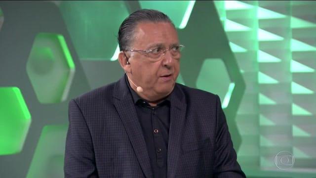 Nada de Galvão: a nova casa da seleção é a TV Walter Abrahão (foto: Reprodução/TV Globo)
