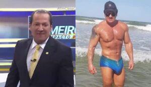 Gilberto Ribeiro viralizou nas redes sociais pelo tamanho de seu órgão genital (foto: SBT/Instagram/Redes Sociais)