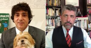 Guga Chacra e Ariel Palacios foram procurados pela CNN Brasil (foto: Montagem/GloboNews)