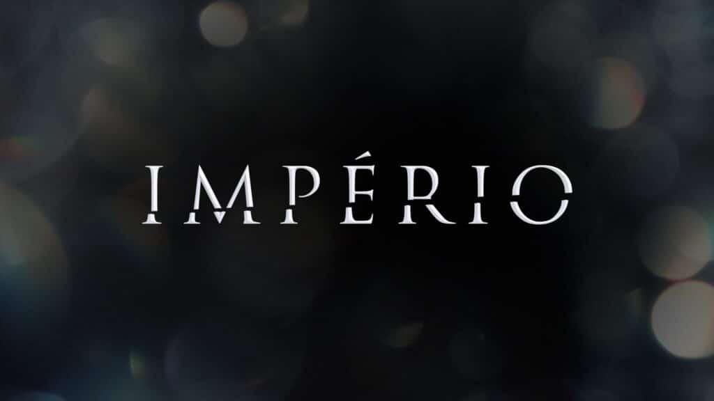 Imagem com o logotipo da novela Império, da Globo