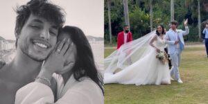 A modelo Jade Seba se casou com um dos galãs de Gênesis (foto: Reprodução/Redes Sociais)