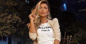 A influenciadora Jessica Belcost posa para foto em São Paulo (foto: Reprodução/TV Pop)