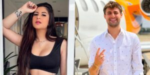 Barraco dos youtubers Letícia Azevedo e Rezende terminou com processo judicial (foto: Montagem/Redes Sociais)