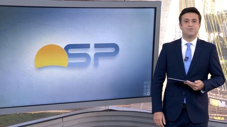 Marcelo Poli havia se tornado apresentador eventual do Bom Dia São Paulo em 2020 (foto: Reprodução/TV Globo)