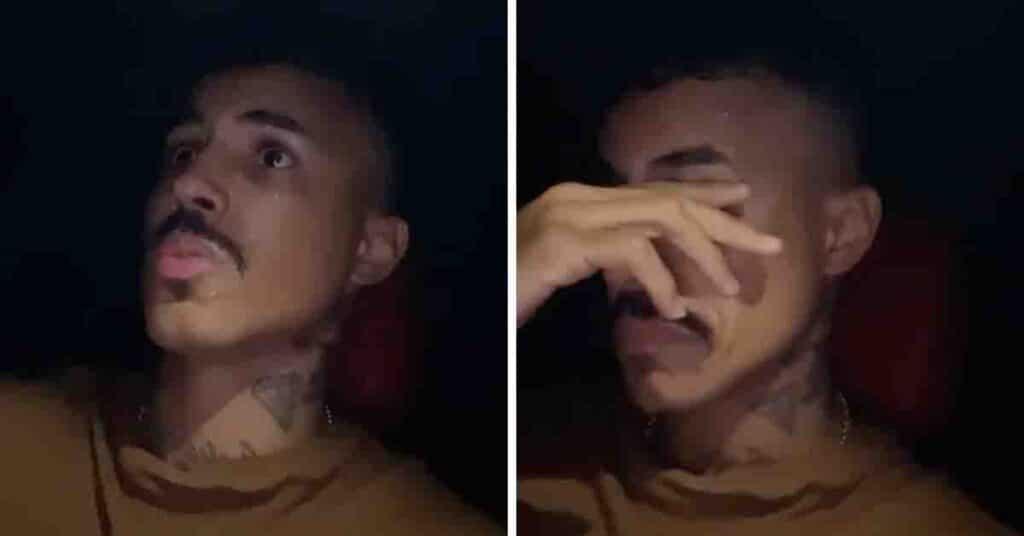 O cantor MC Livinho nega ter forjado o seu desaparecimento (foto: Montagem/Instagram)