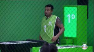Nego Di é o primeiro líder do BBB21 (foto: Reprodução/TV Globo)