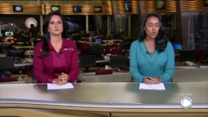 Carla Cecato e Salcy Lima bateram boca publicamente (foto: Reprodução/Record)