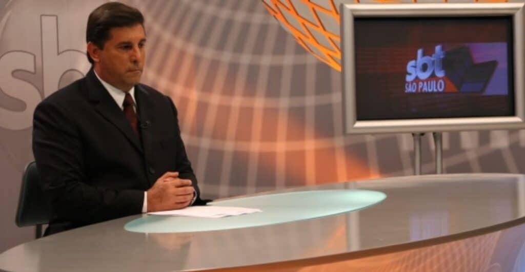 Carlos Nascimento foi um dos apresentadores do SBT São Paulo (foto: Divulgação/SBT)