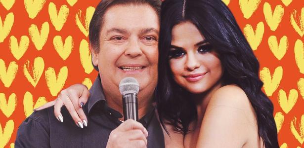Novo clipe de Selena Gomez seria uma homenagem ao apresentador Faustão? (foto: Montagem/Redes Sociais)