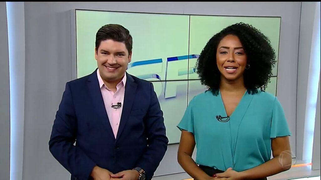 Bruno Peruka e Mariana Bispo foram os últimos apresentadores do SP no Ar (foto: Reprodução/Record)