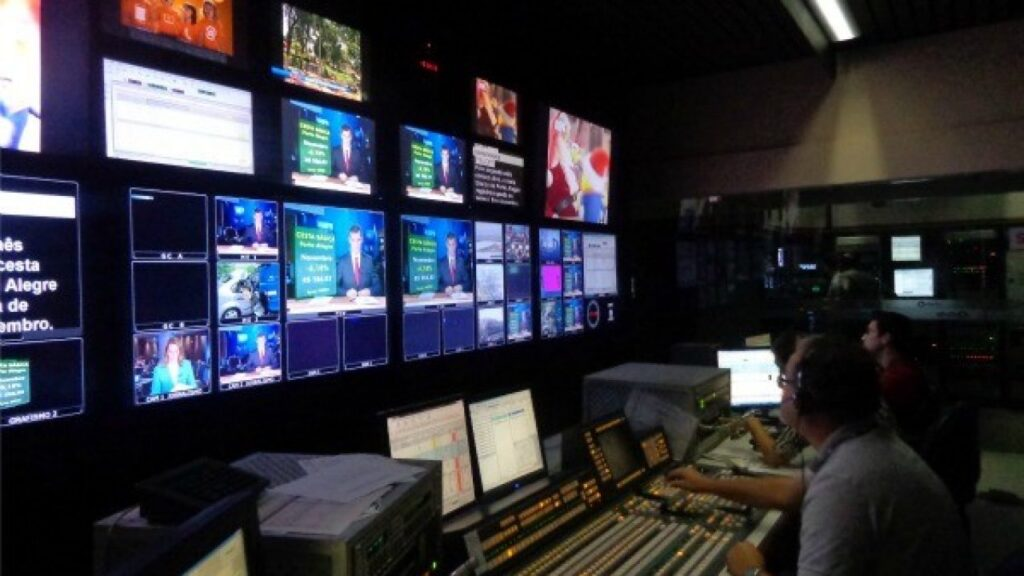 Switcher de uma emissora de TV, o coração de um programa ao vivo (foto: Divulgação)