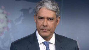 William Bonner pode estar planejando deixar o Jornal Nacional (foto: Reprodução/TV Globo)