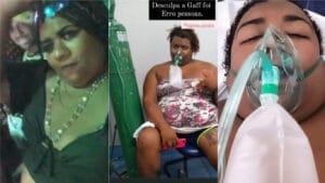 Terror da OMS, Ygona Moura foi acometida pelo vírus que ela fazia piada (foto: Montagem/Redes Sociais)