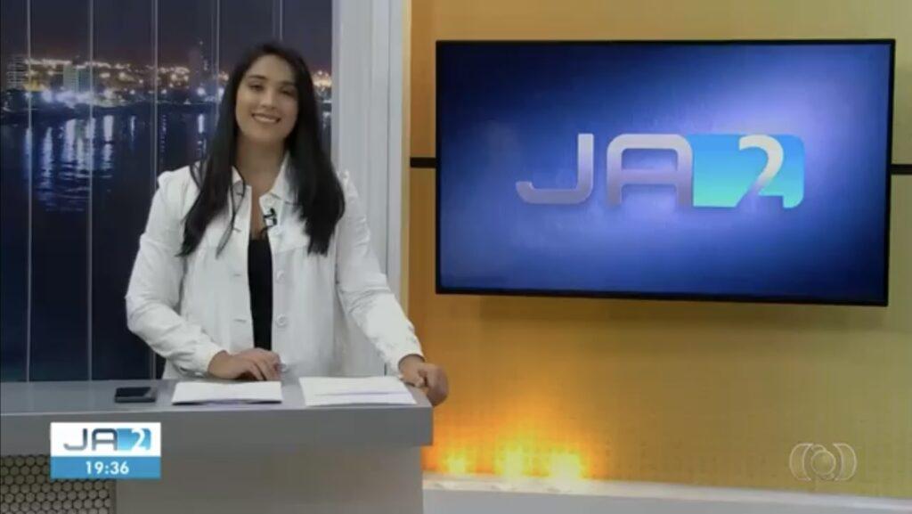 Giuliane Nascimento trocou afiliada da Globo pela CNN Brasil (foto: Reprodução/TV Anhanguera)