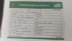 Senhor Abravanel? Nome de Silvio Santos foi escrito errado em cartão de vacinação (foto: Divulgação)