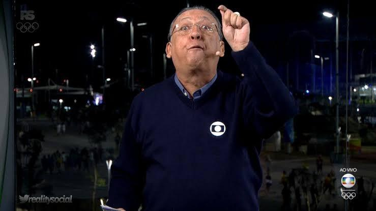 Globo pode perder direitos de transmissão do Paulistão a partir de 2022; Galvão Bueno é o principal narrador da emissora (foto: Reprodução/TV Globo)