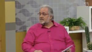 Leão Lobo foi efetivado no time de apresentadores da TV Gazeta (foto: Reprodução/TV Gazeta)