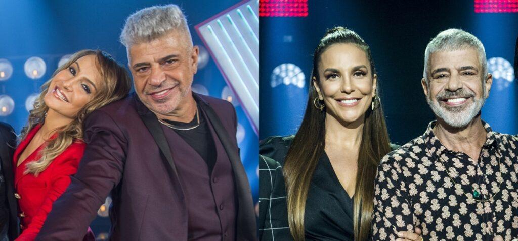 Lulu Santos usou Ivete Sangalo para alfinetar novo lançamento de Claudia Leitte (foto: Montagem/TV Globo)