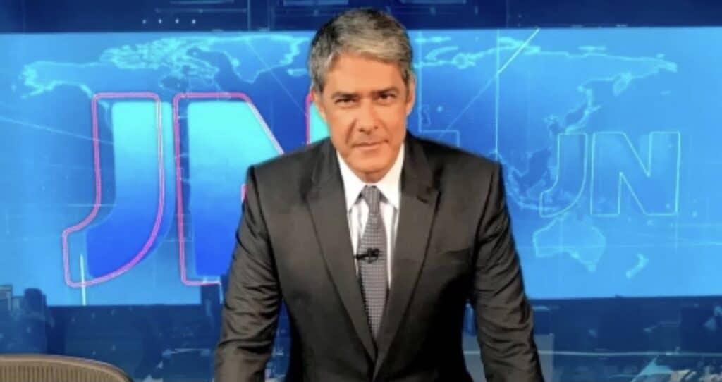 Disputa pela cadeira de William Bonner no Jornal Nacional já causa barraco nos bastidores da Globo (foto: Divulgação/TV Globo)