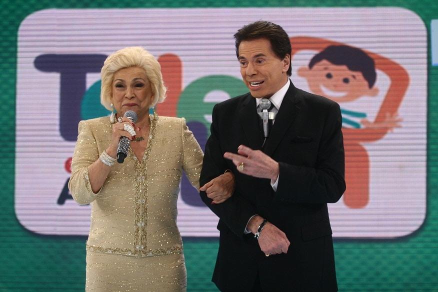 Silvio Santos pediu perdão para Hebe durante velório (foto: Reprodução)