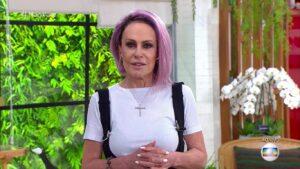 Volta de Ana Maria Braga para São Paulo tem causado confusão nos bastidores (foto: Reprodução/TV Globo)